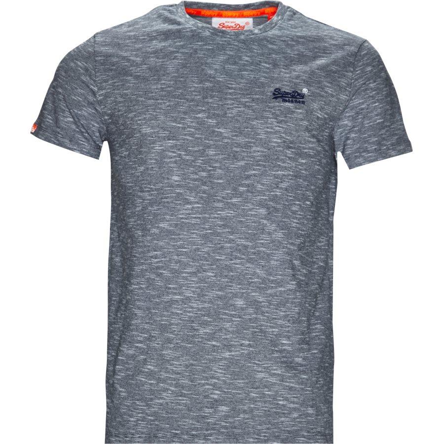 M1000.. - M1000 - T-shirts - Regular - BLÅ MEL. - 1